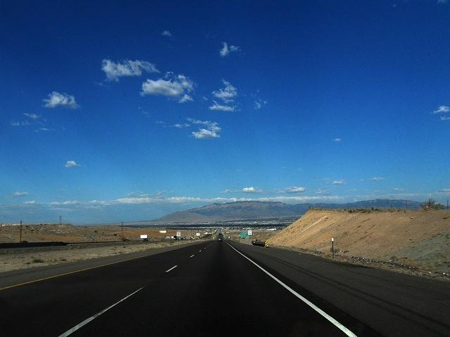 The Road into Albuquerque; Nice view