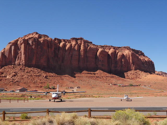 Me, a turboprop, and the mesa