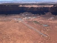 Monument Valley Airport (UT25) with Gouldings Resort and Trading Post