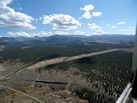 Left downwind for Leadville