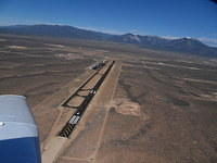 Taos Airport looking back east