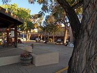 Taos historic square