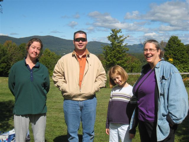 Katherine, Rob, Suzie, Harriett