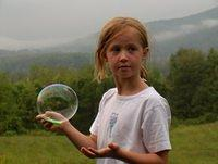 Bubbles in the mountains