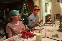 Christmas Crackers always finish off the holiday dinner.